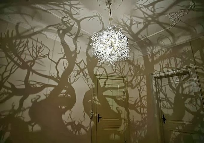 creative chandelier ideas for your halloween decoration